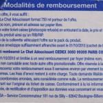 Modalités Le Chat remboursé