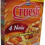 Céréales Cruesli 100% remboursé