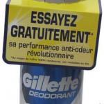 Déodorant Gilette Remboursé