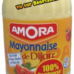 Mayonnaise Amora 100% remboursé