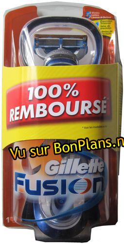 Rasoir Gillette 100% Remboursé