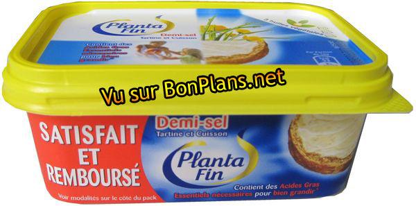 """Planta Fin """"Demi-Sel"""" satisfait ou remboursé"""