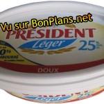 Beurre Président satisfait ou remboursé