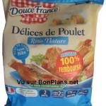 Poulet Douce France 100% remboursé
