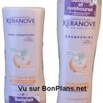 Shampoing Kéranove satisfait et remboursé