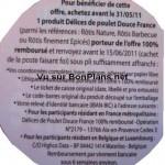 Modalités Douce France 100% remboursé