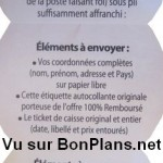Modalités accras Douce France 100% remboursé