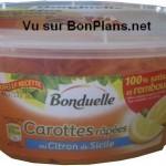 Carottes Bonduelle 100 % Satisfait ET Remboursé
