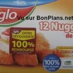 Nuggets de poulet Iglo 100% remboursé