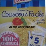 Couscous Lustucru satisfait ou remboursé