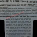 "Modalités Rasoir Wilkinson ""Hydro 5"" 100% remboursé"