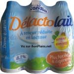Lait Delactolait de Candia satisfait et remboursé