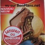 Chocolat Cote d'Or satisfait ou remboursé