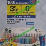 Paper Mate 100% remboursé chez Carrefour