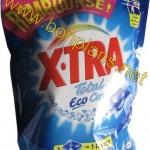 Lessive X-TRA 100% remboursé