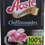 Chiffonnades de jambon Aoste 100% remboursé